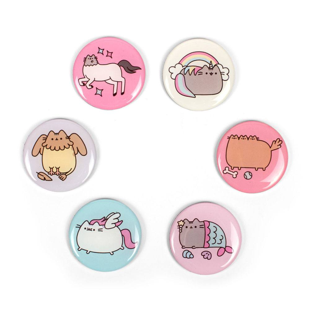 Pusheen Fridge Magnets 6-Pack