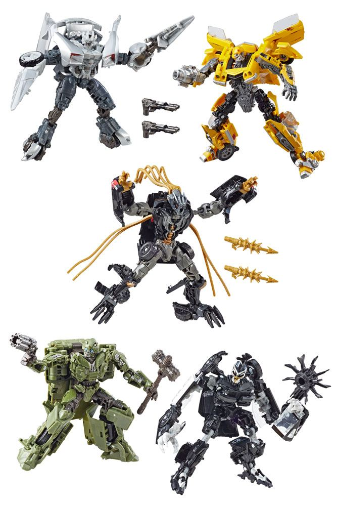 Transformers Studio Series Deluxe Class Action Figures 2019 Wave 1 Assortment (8)