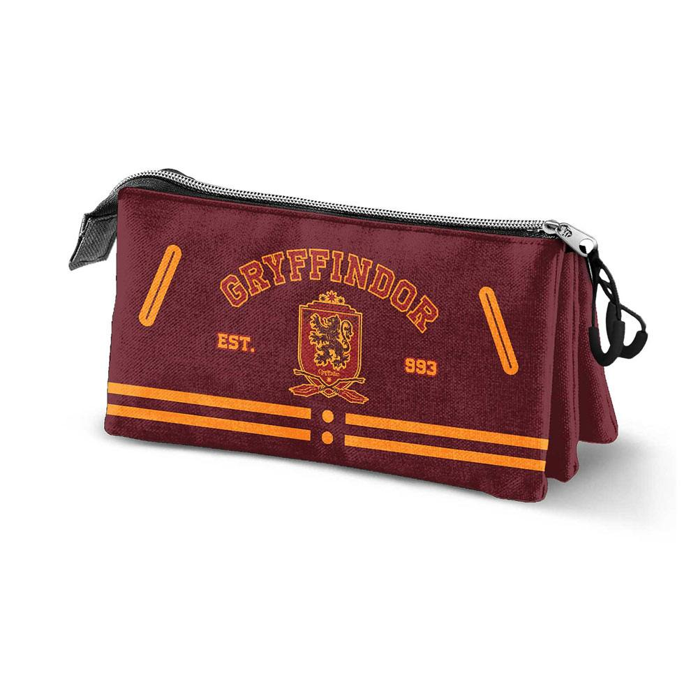 Harry Potter Pencil Case Gryffindor Logo Triple