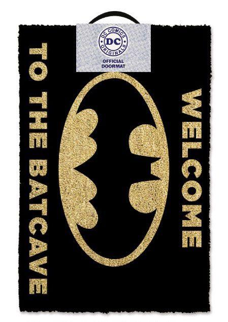 DC Comics Doormat Welcome To The Bat Cave 40 x 60 cm