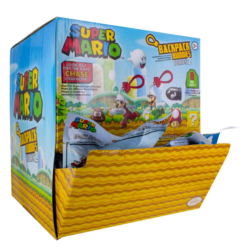 Super Mario Backpack Buddies Mystery Bags Display Series 2 (24)
