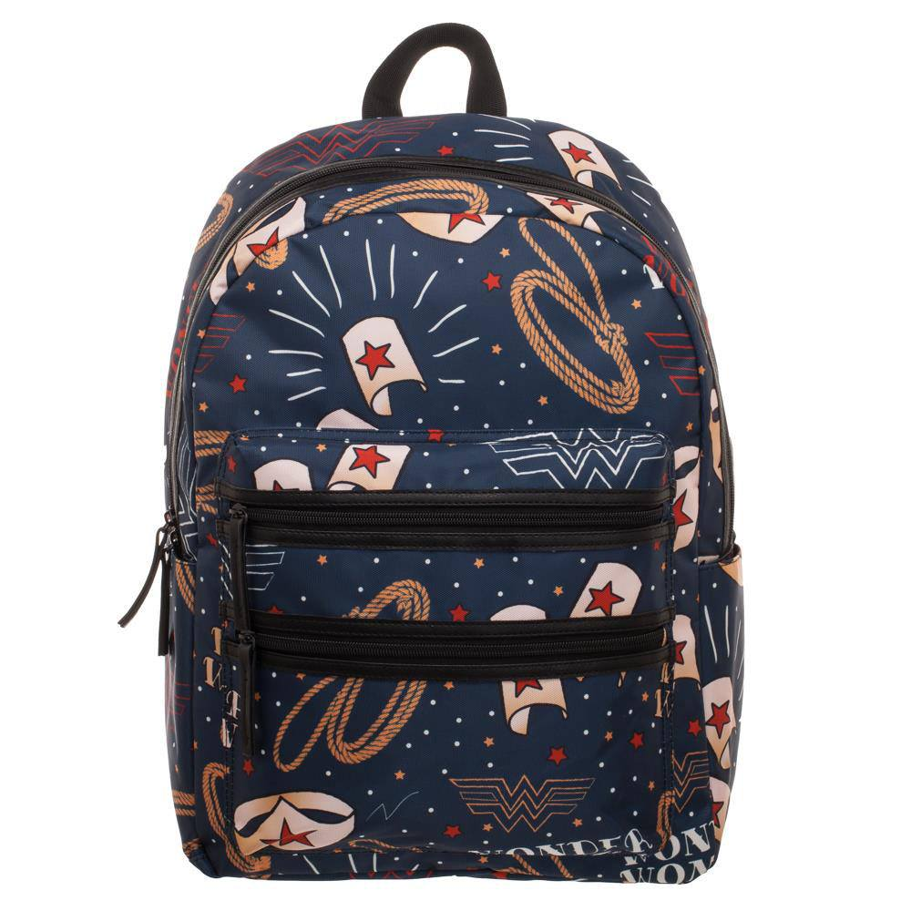 Wonder Woman Backpack Symbols
