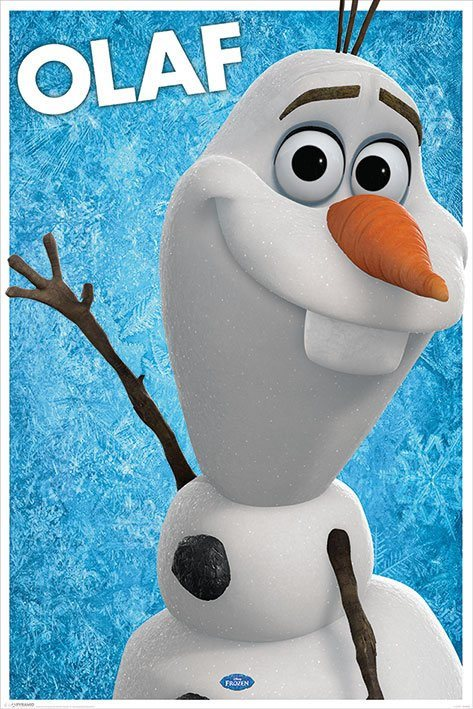 Frozen Poster Pack Olaf 61 x 91 cm (5)