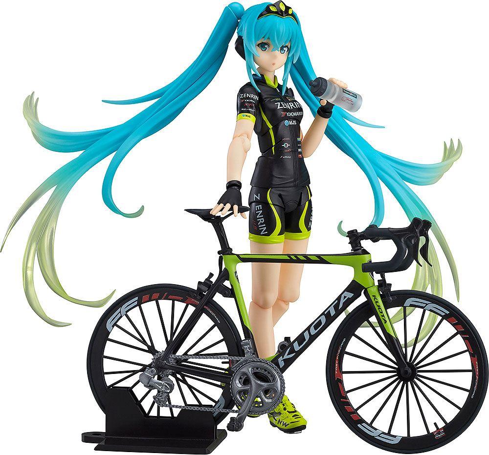 Racing Miku 2015 Figma Action Figure Racing Miku 2015 TeamUKYO Support Ver. 14 cm