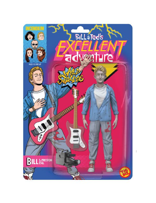 Bill & Ted's Excellent Adventure FigBiz Action Figure Bill S. Preston, Esq. 13 cm
