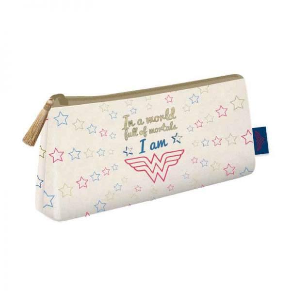 Wonder Woman Cosmetic Bag Stars