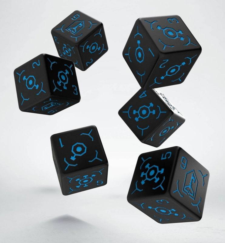 Ingress Dice Set 6D6 Resistance (6)