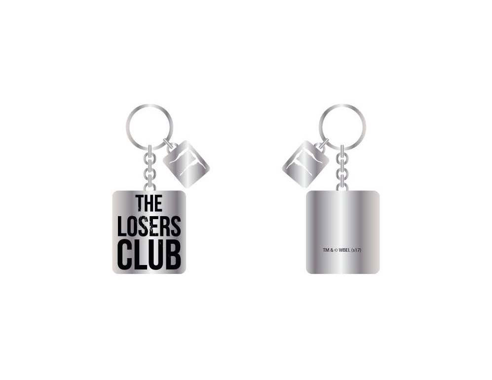 Stephen Kings It 2017 Metal Keychain The Losers Club