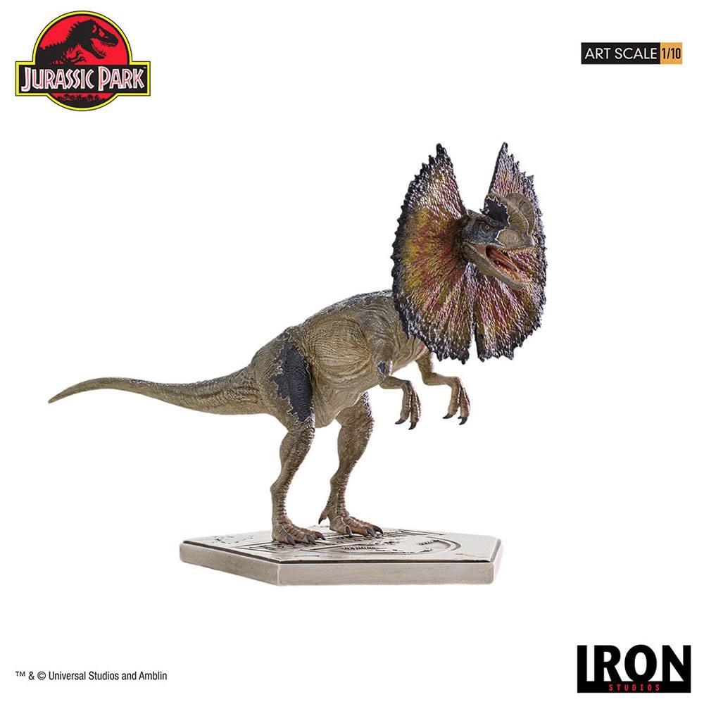 Jurassic Park Art Scale Statue 1/10 Dilophosaurus 18 cm