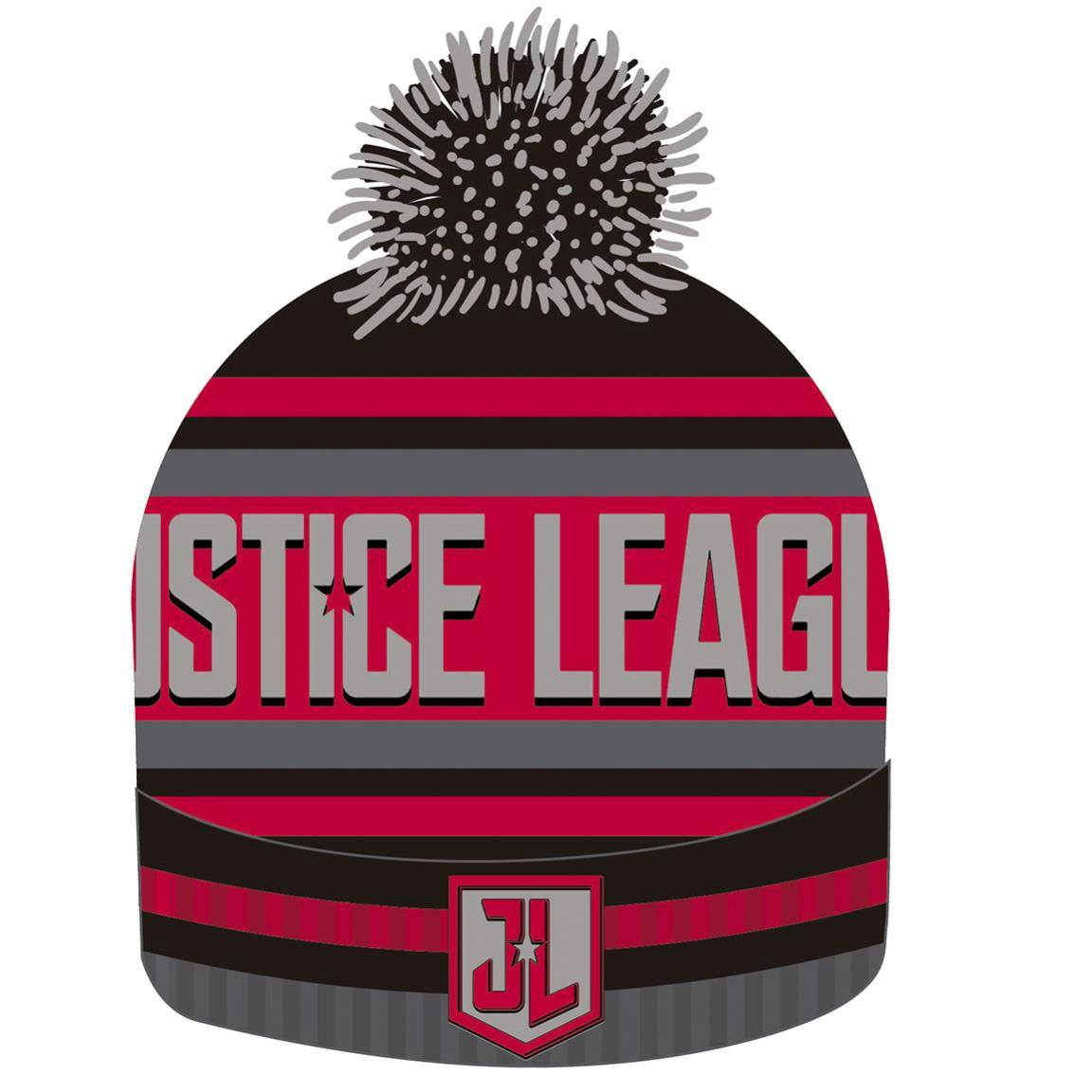 Justice League Beanie Knitted Logo