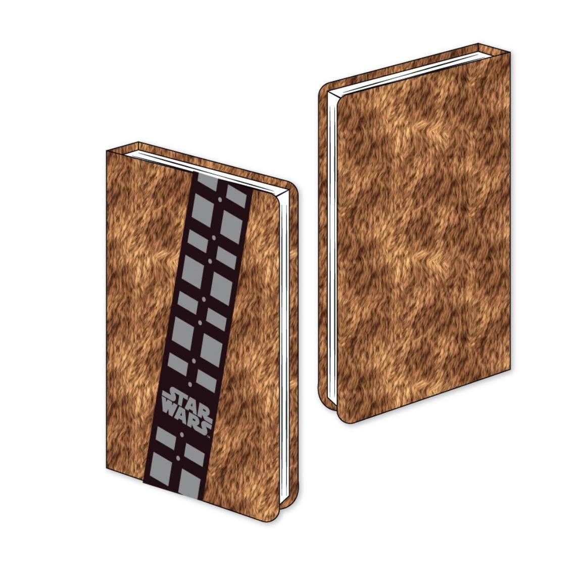Star Wars Premium Plush Notebook A5 Chewbacca