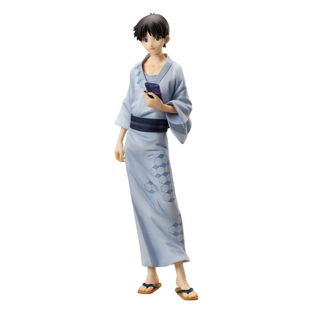 Rebuild of Evangelion PVC Statue 1/8 Shinji Ikari: Yukata Ver. 22 cm