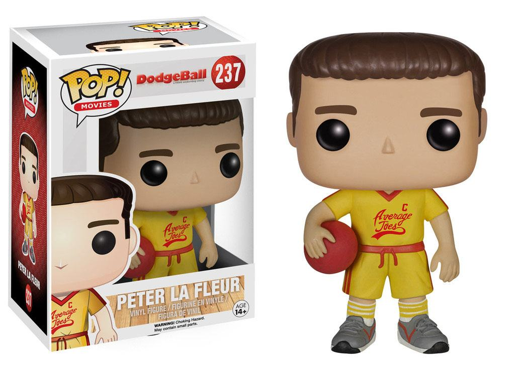 DodgeBall A True Underdog Story POP! Movies Vinyl Figure Peter La Fleur 9 cm