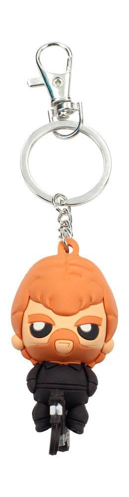 Chuck Norris Pokis Rubber Keychain Tough Guy 6 cm