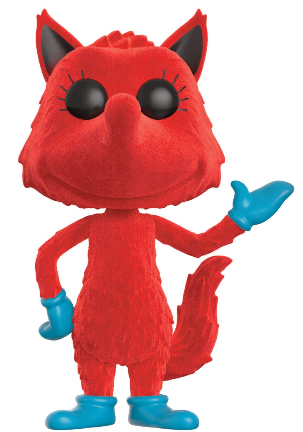 Dr. Seuss POP! Books Vinyl Figure Fox in Socks (Flocked) 9 cm