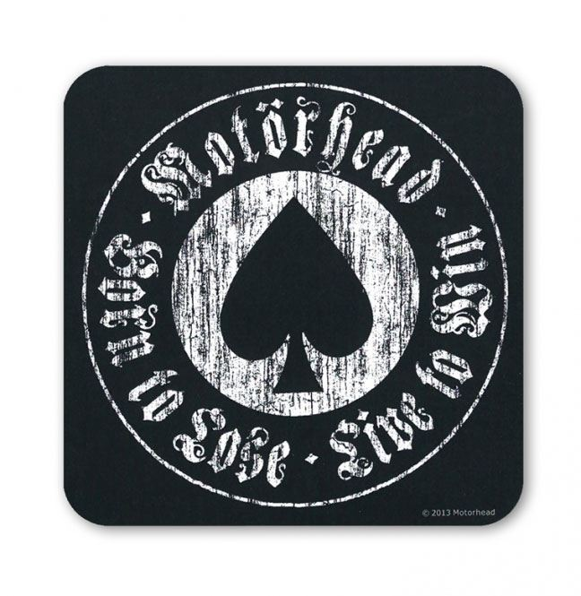 Motörhead Coaster Pack Born To Lose (6)