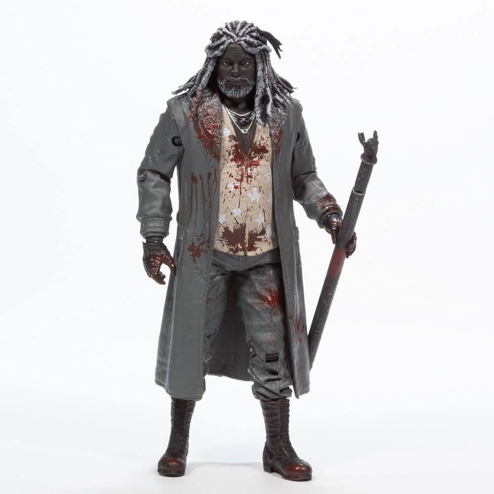 The Walking Dead Action Figure Ezekiel (Bloody B&W) 15 cm