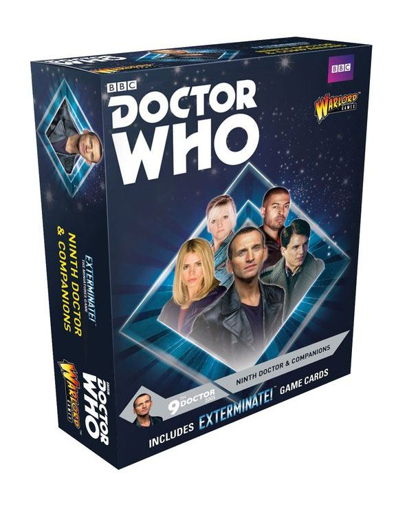 Doctor Who Exterminate! Expansion 9th Doctor and Companions *English Version*