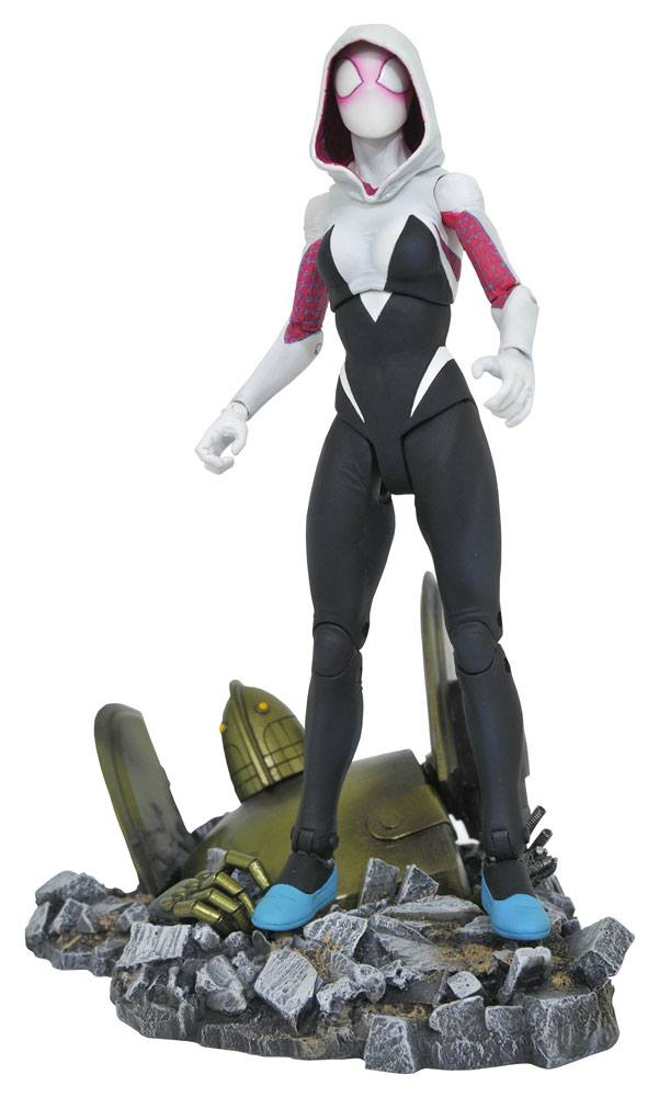 Marvel Select Action Figure Spider-Gwen 17 cm