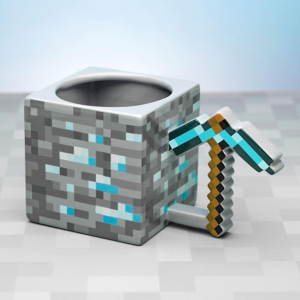 Minecraft Mug Pickaxe