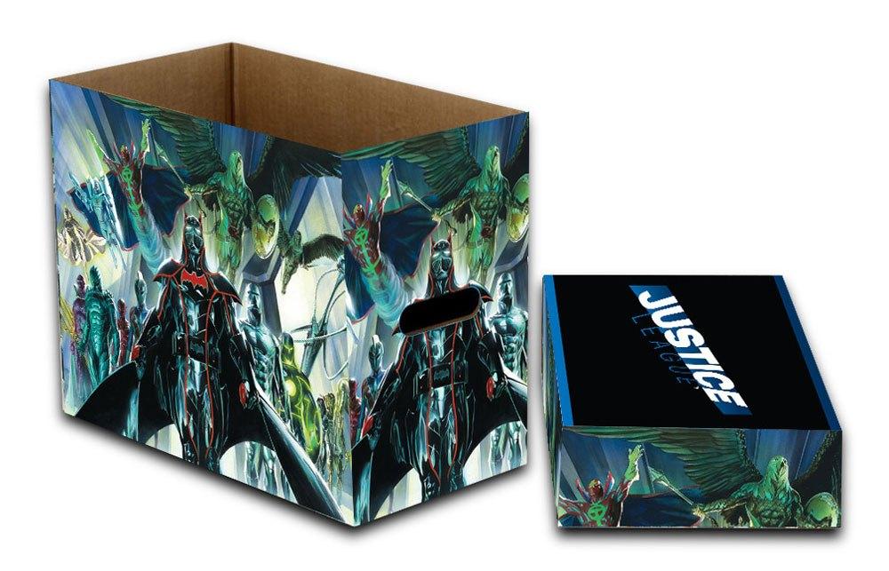 DC Comics Storage Boxes Justice League 23 x 29 x 39 cm Case (5)