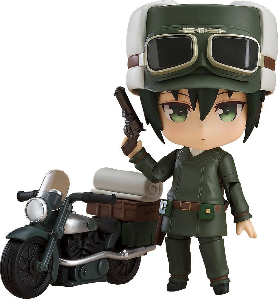 Kino's Journey Nendoroid Action Figure Kino & Hermes 10 cm