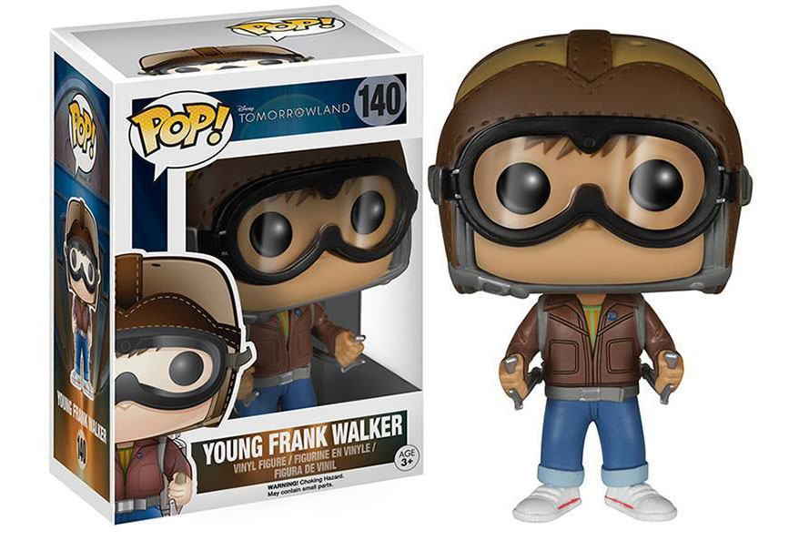 Tomorrowland POP! Disney Vinyl Figure Young Frank Walker 9 cm