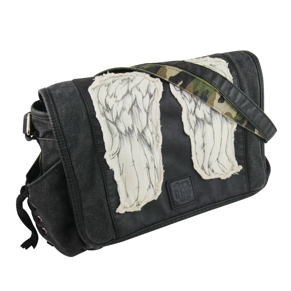 The Walking Dead Mini Messenger Bag Daryl's Wings