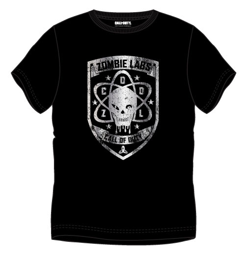 Call of Duty T-Shirt Zombie Labs Size M