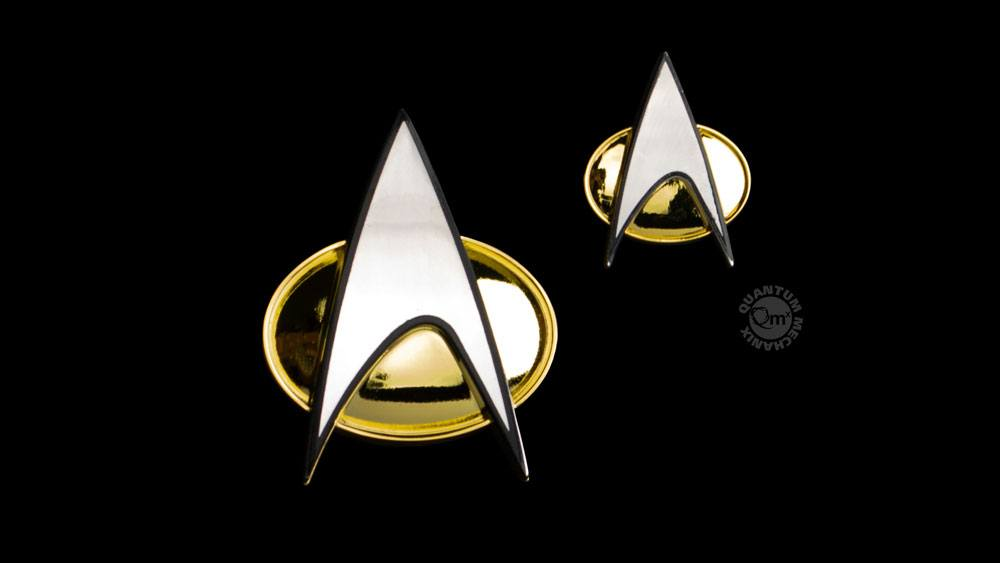 Quantum Mechanix Star Trek: The Next Generation Badge & Pin Set Communicator