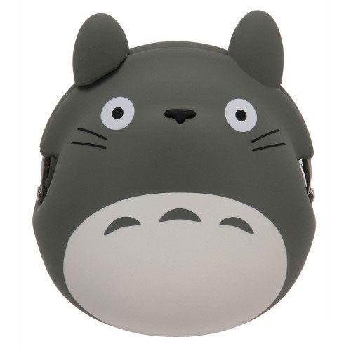 My Neighbor Totoro Mini Silicon Coin Purse Totoro grey 9 cm