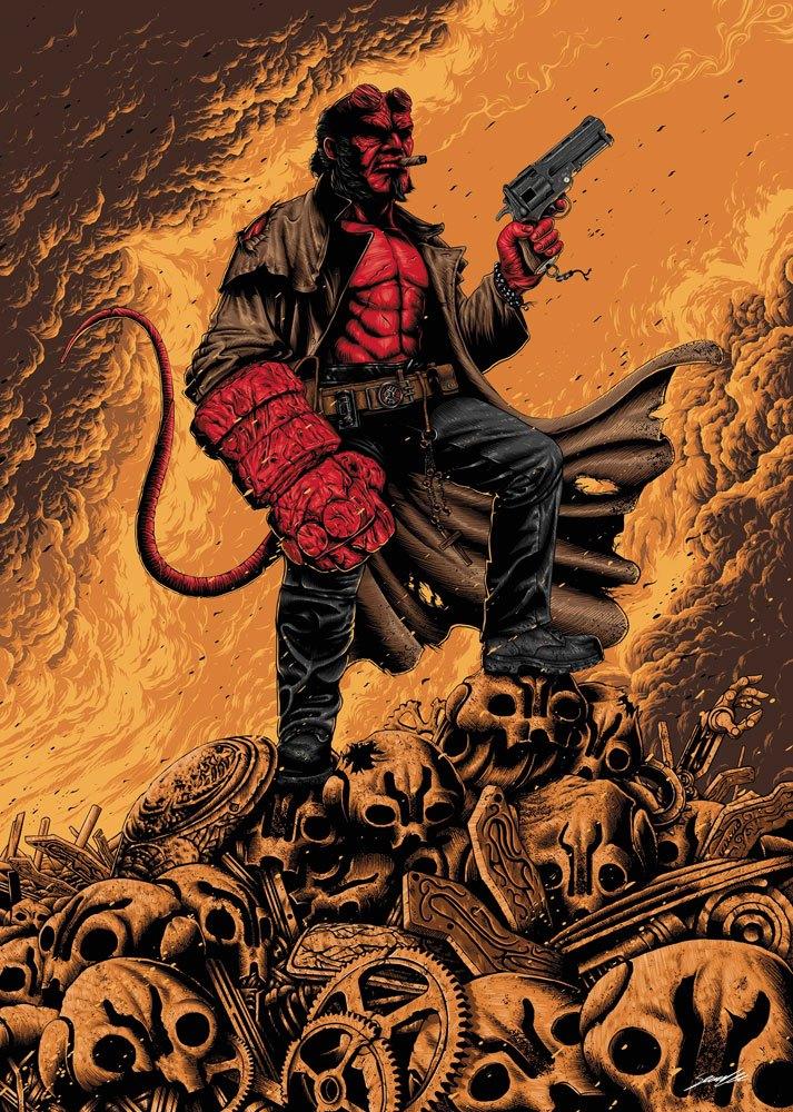 Hellboy Art Print 42 x 30 cm