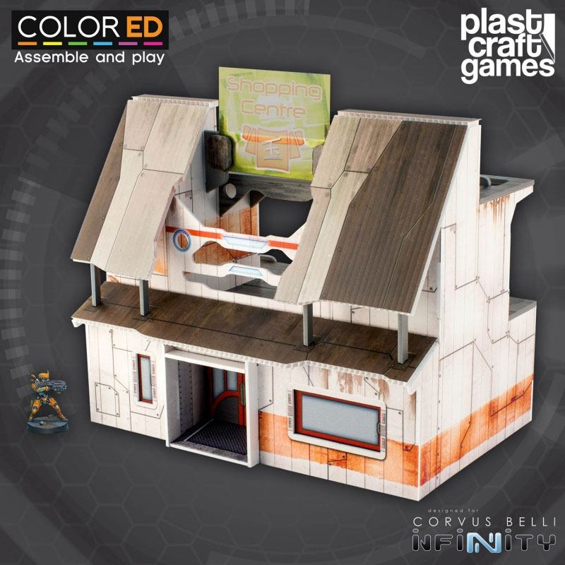 Infinity ColorED Miniature Gaming Model Kit 28 mm YJ Shopping Centre
