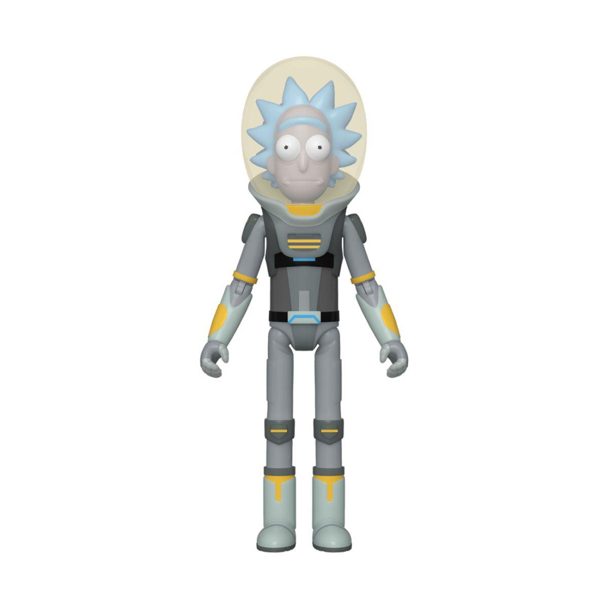 Rick & Morty Action Figure Space Suit Rick 10 cm