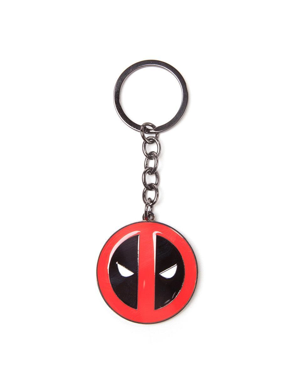 Deadpool Metal Keychain Big Face 7 cm