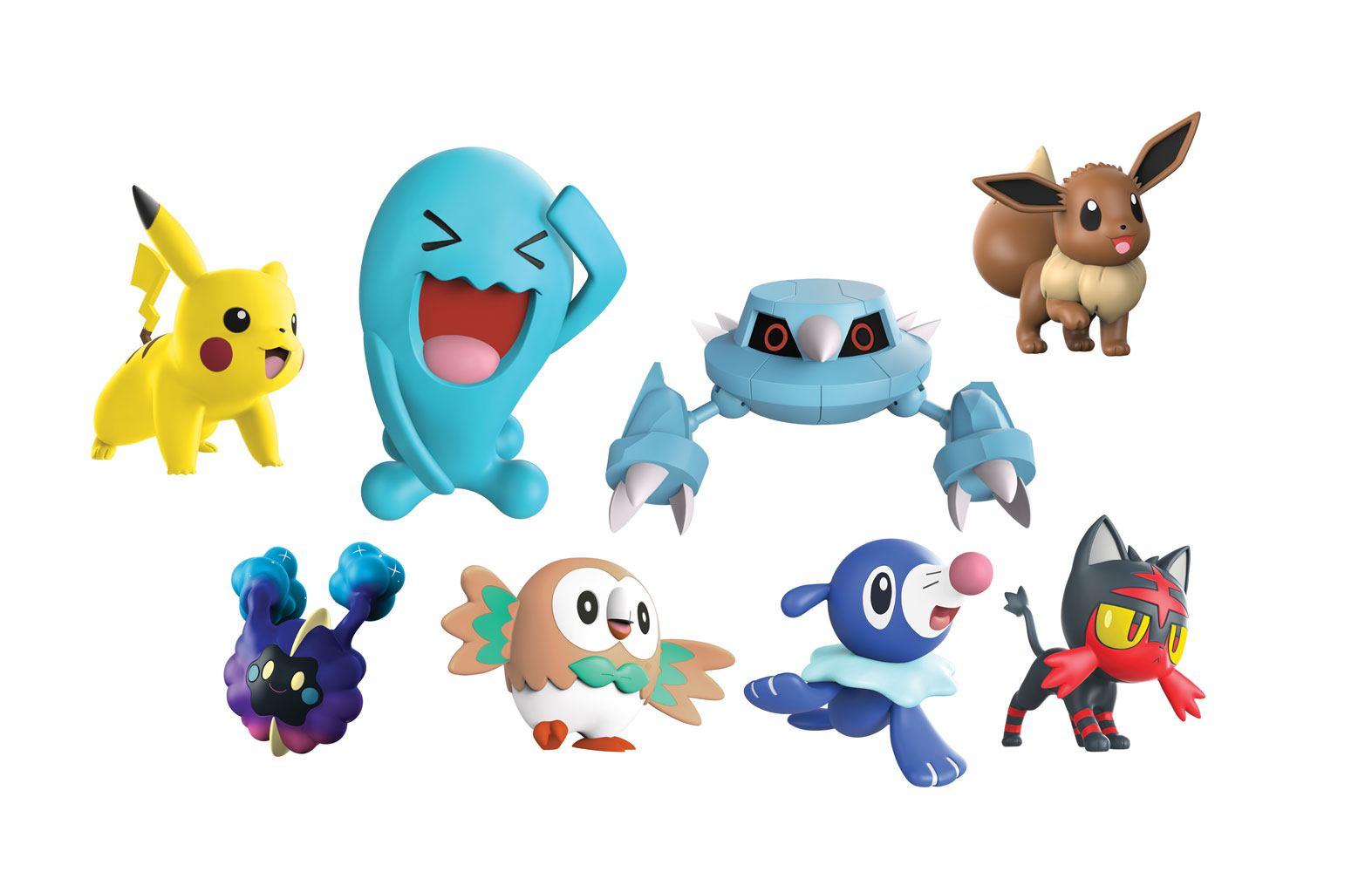 Pokémon Battle Mini Figures 8-Pack 5-7 cm Wave 1