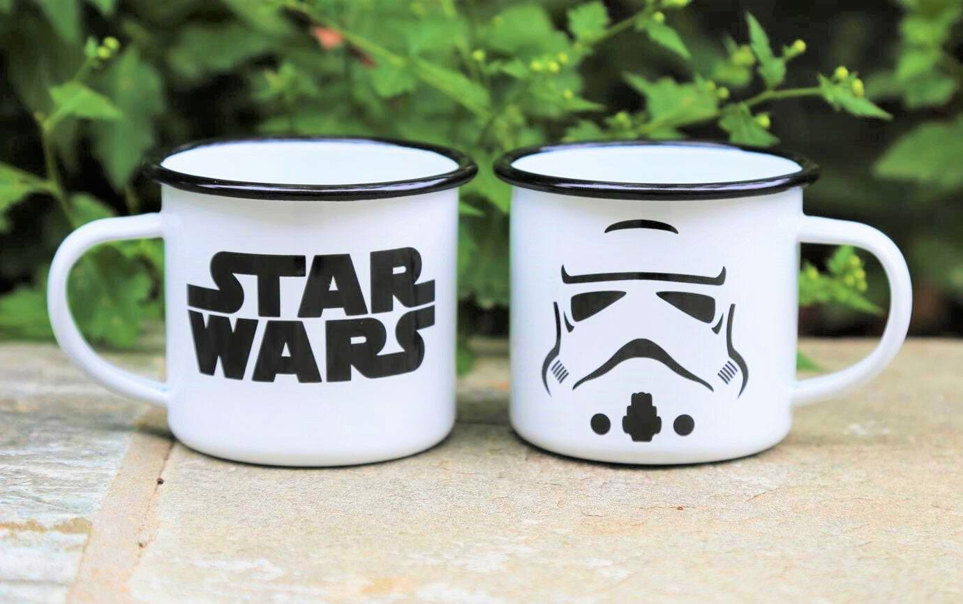 Star Wars Enamel Mug Stormtrooper