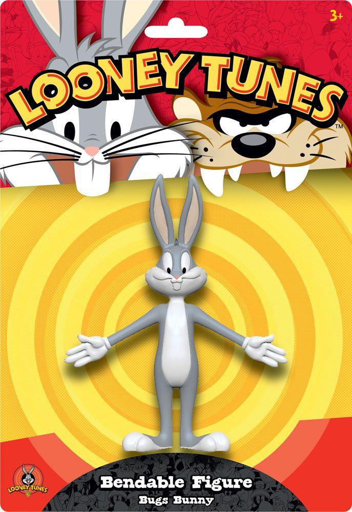 Looney Tunes Bendable Figure Bugs Bunny 15 cm