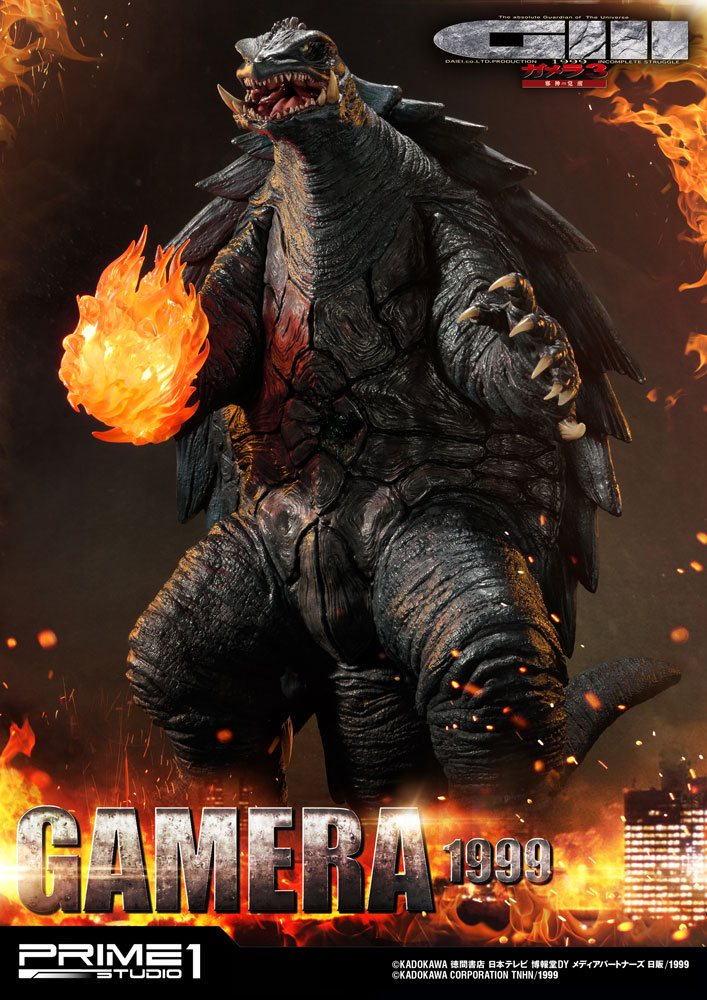 Gamera 3 The Revenge of Iris Statue Gamera 55 cm