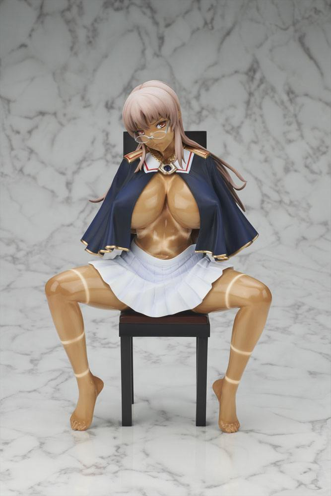 Shinkyoku no Grimoire PVC Statue 1/6 Miya Lindbloom Torn Hemp Bag Ver. 23 cm