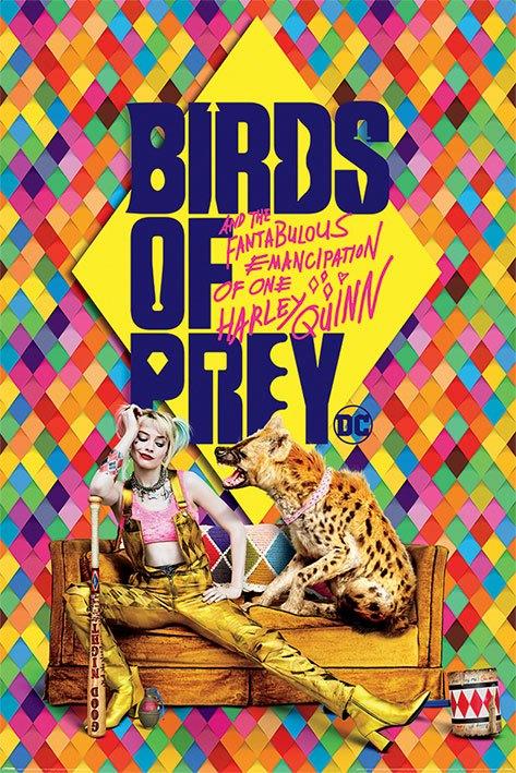 Birds Of Prey Poster Pack Harley's Hyena 61 x 91 cm (5)