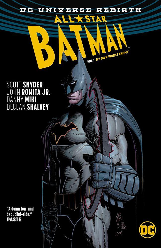 DC Comics Comic Book All Star Batman Vol. 1 My Own Worst Enemy by Scott Snyder english