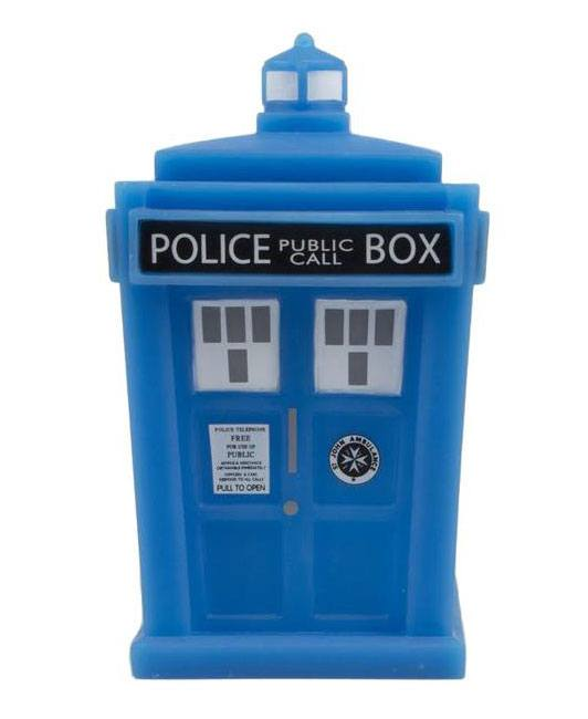 Doctor Who Titans Vinyl Figure Tardis GITD NYCC 2017 Exclusive 11 cm