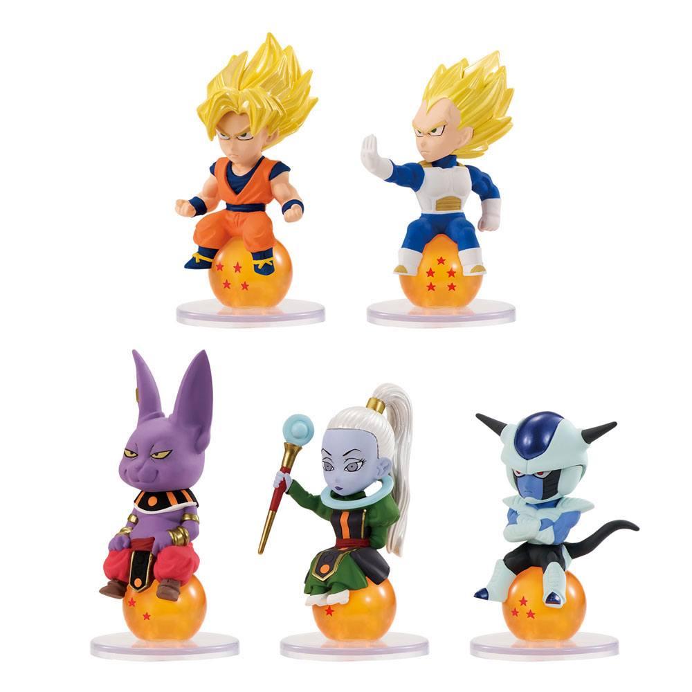 Dragonball Super Charapucchi Figures 6 cm Assortment (10)