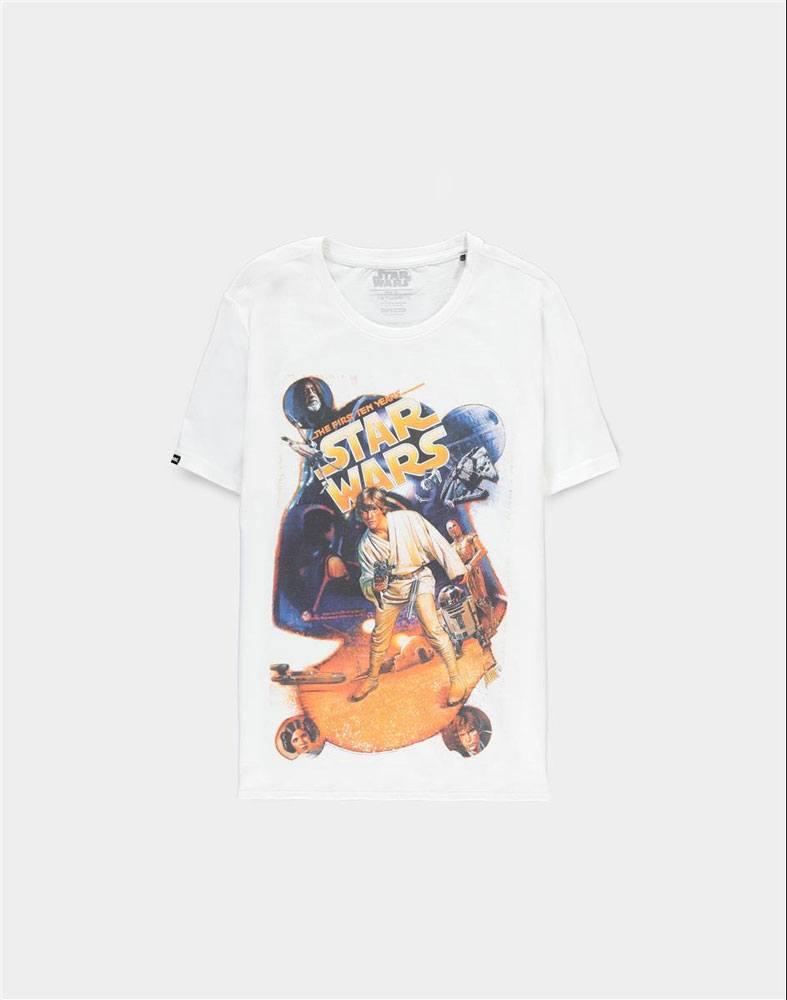 Star Wars T-Shirt Luke Poster Size M
