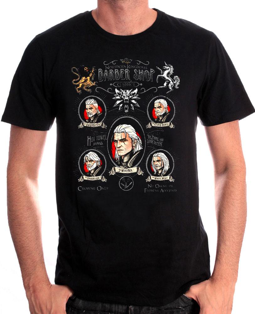 Witcher T-Shirt Shave and Haircut Size M