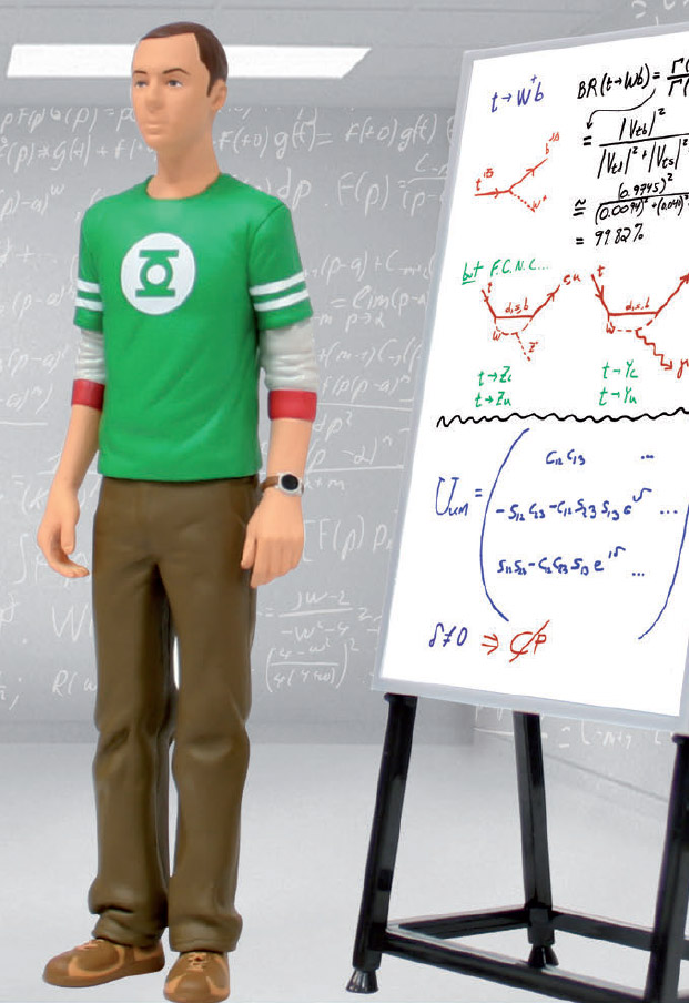 The Big Bang Theory Figure Sheldon Cooper 18 cm