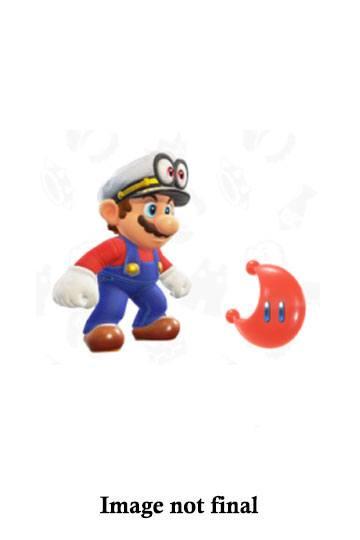 World of Nintendo Action Figure Wave 15 Cappy Captain Mario with Moon 10 cm