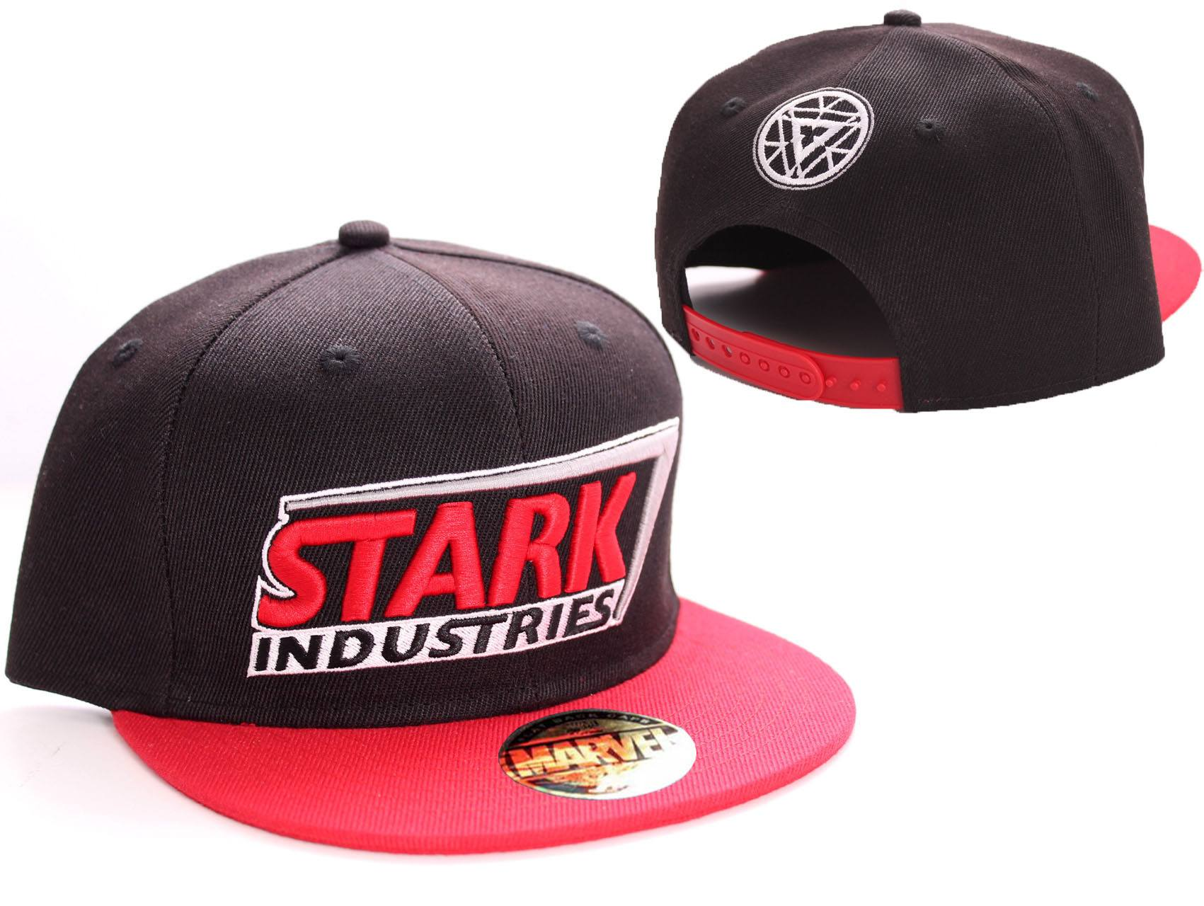 Iron Man Adjustable Cap Stark Red Logo