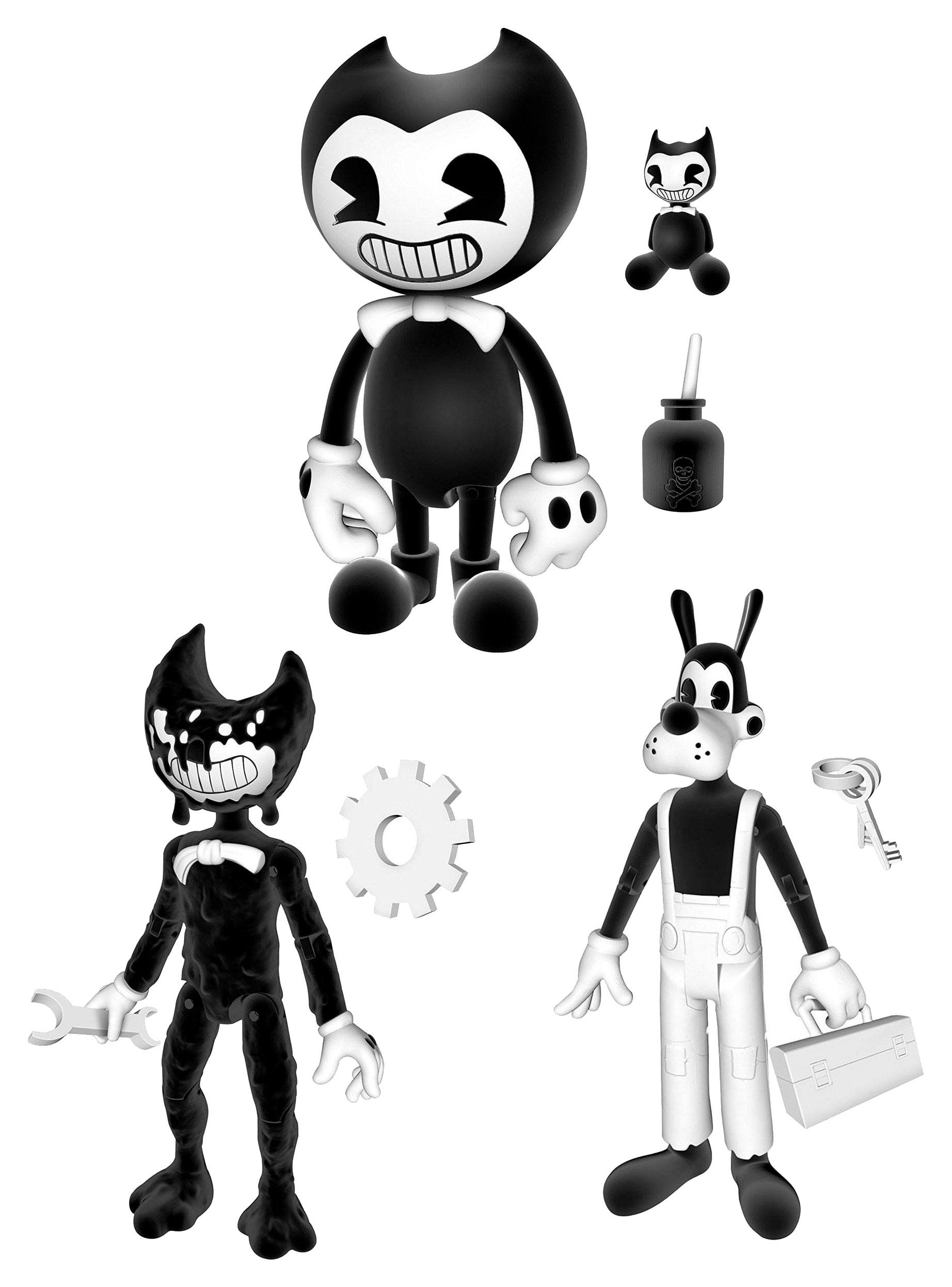 Bendy and the Ink Machine Action Figures 13 cm Assortment (6)